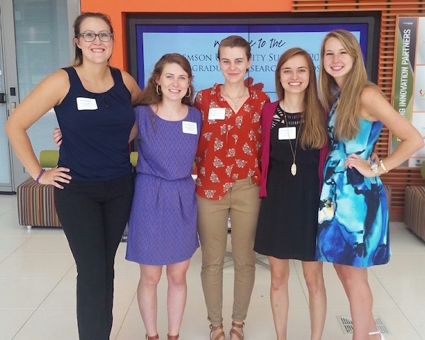 Undergrads Present at REU Symposium